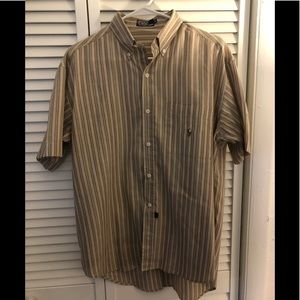 "EUC Men ""POLO by Ralph Lauren"" Multi-Striped Shirt"